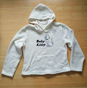 -NWT- Baby Kitty Fleece Hoodie